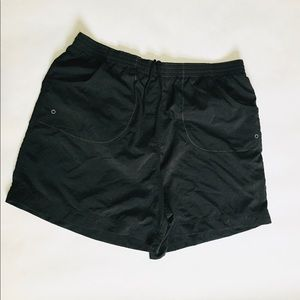 Columbia black shorts 100% nylon women's medium